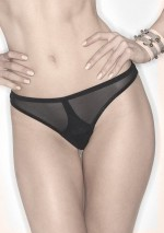Alexa transparent black brief Alexa Lascivious