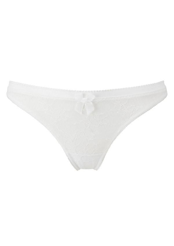 Ivory white thong Retrolution - Gossard