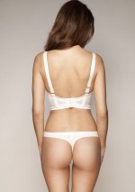 Ivory white thong Retrolution Gossard