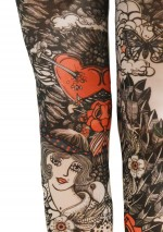 Line tights Fantaisie Marie Antoilette