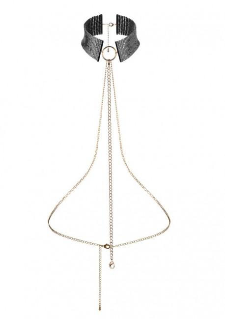 Collier harnais désir Désir métallique - Bijoux Indiscrets