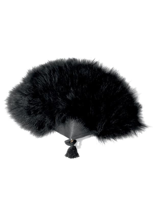 Le Soupirant feather fan Les Burlesques - Maison Close