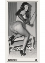 Menottes wild'n'willing Wild 'N' Willing Bettie Page