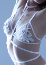 Soutien-gorge triangle nude et dentelle Flash You And Me