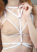 White Emma harness Flash You And Me