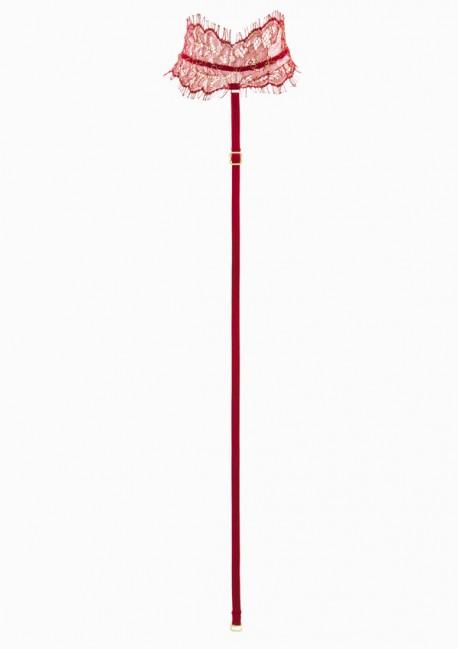 Harnais pour string rouge Jardin Imperial Jardin Impérial - Maison Close