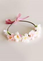 Couronne de fleurs de cerisierSa Majesté