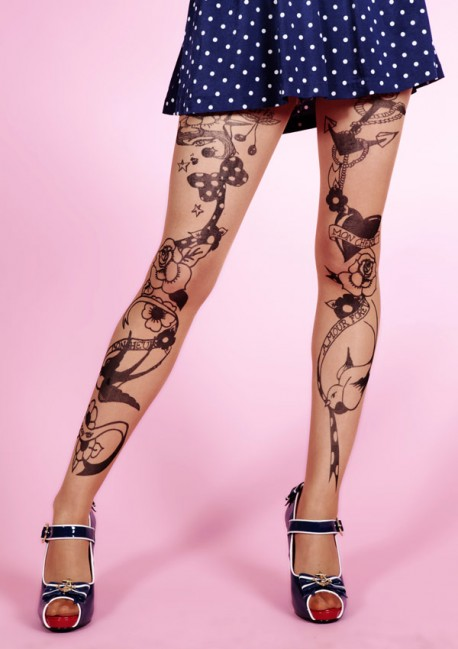 Tattoo Circus tights Fantaisie Mirey