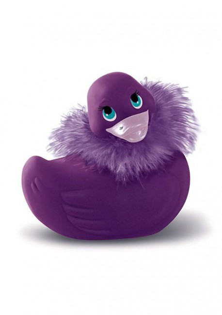 Canard Paris violet I Rub My Duckie Big Teaze Toys