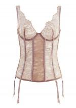 Jardin Impérial glazed chesnut garter corsetJardin ImpérialMaison Close