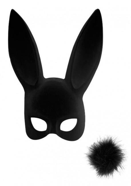 Masque lapin avec pompon Les Fétiches - Maison Close