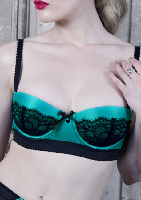 Soutien-gorge push up sarcelle Paradise Playful Promises