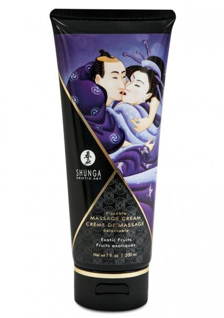 Crème de massage délectable fruits exotiques - Shunga