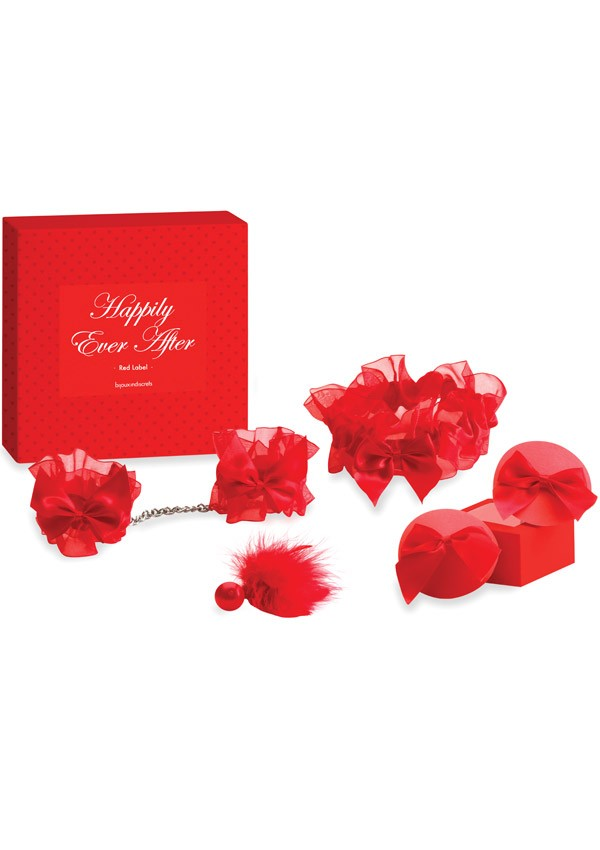 Coffret St valentin Happily Ever After Red label - Bijoux Indiscrets