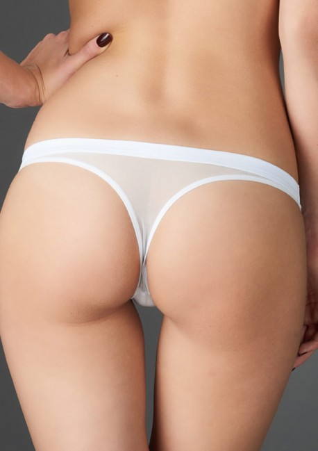 String blanc tentation Pure Tentation - Maison Close