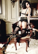 Black elaborate stockings Les originaux Baci