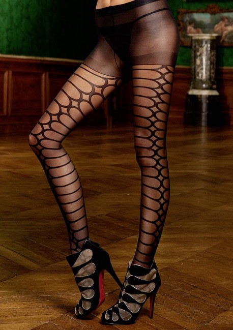 Black patterned tights The originals Baci
