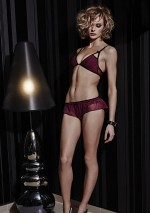 Berry triangle bra Sophia Something Wicked