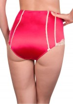 Pomegranate high waisted brief La Précieuse Rosy