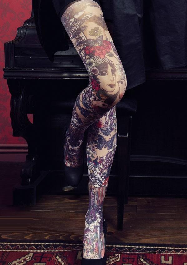Joséphine tights Fantaisie - Marie Antoilette