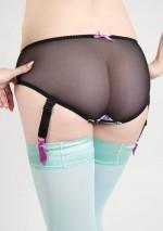Culotte porte-jarretelles à fleursMia KimonoPlayful Promises