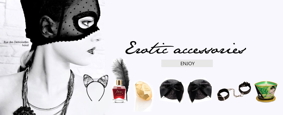 Erotic accessories at Wild lingerie