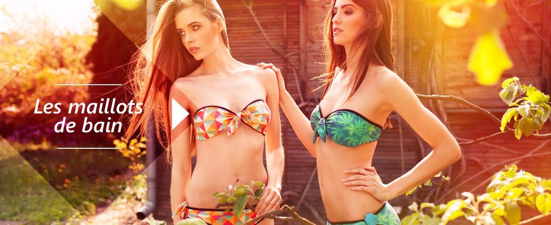 Les maillots de bain enfin disponibles chez Wild lingerie